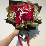 Rose Rosse Classiche Flower Bouquet Johor Bahru Delivery Only Giftr Malaysia S Leading Online Gift Shop
