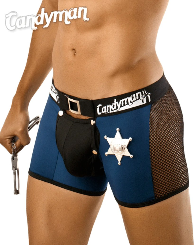 CANDYMAN 9500 Police Costume Outfit