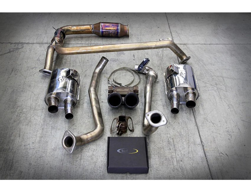 tubi style exhaust system cayman boxster 718