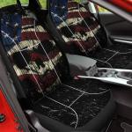 Shredded Skull Car Seat Cover American Legend Rider