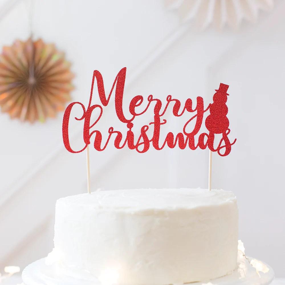 Christmas Cake Decorations Perth