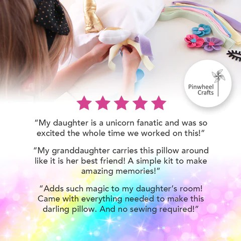 no sewing needed unicorn gifts for