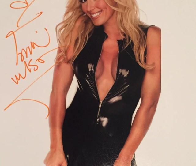 Torrie Wilson Autographed X Photo