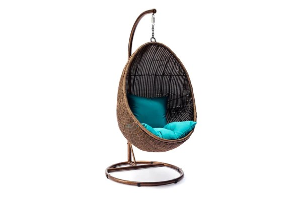 Ansan Outdoor Furniture Wicker Egg Swing Chair