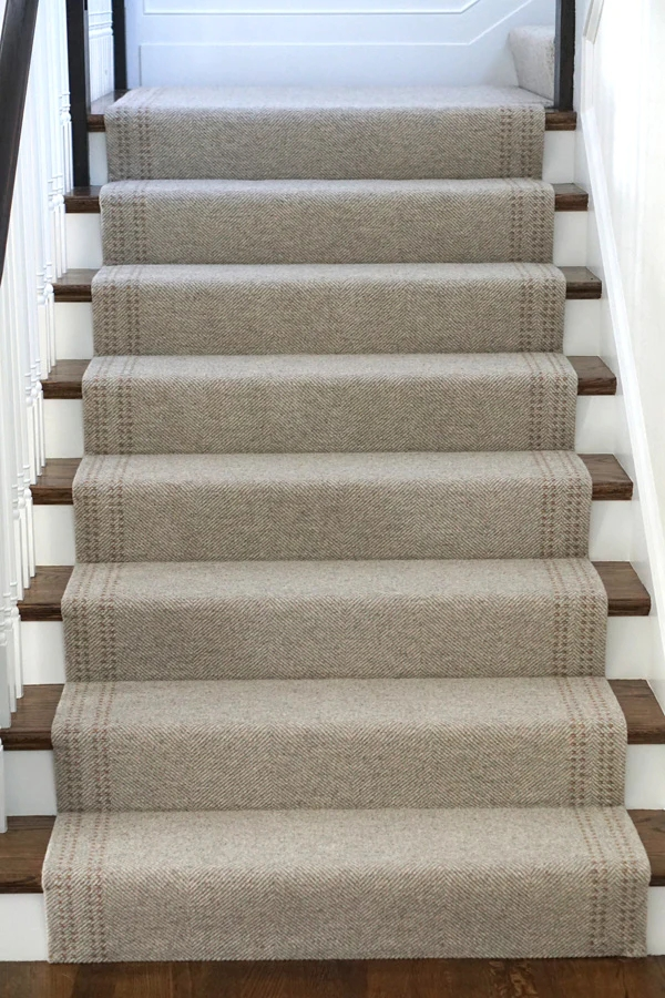 5 Ways To Style A Staircase With Wool Rugs – Merida   Wool Carpet Runners For Stairs   Flooring   Woven   Rectangular Cord Treads   Stair Country Style   Modern