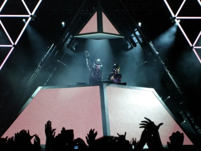 Daft Punk's pyramid stage