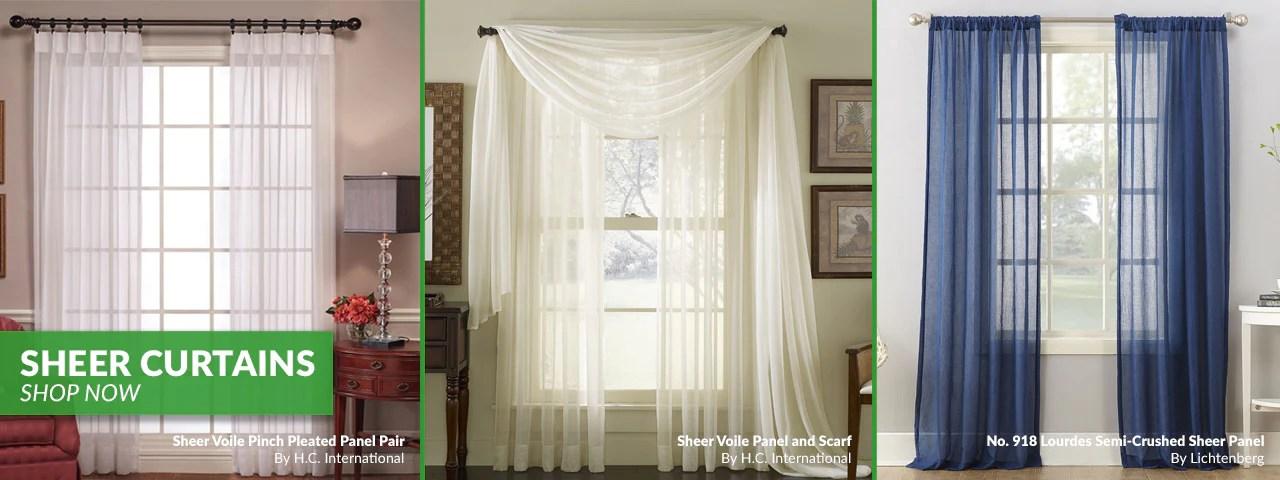curtain shop discount curtains