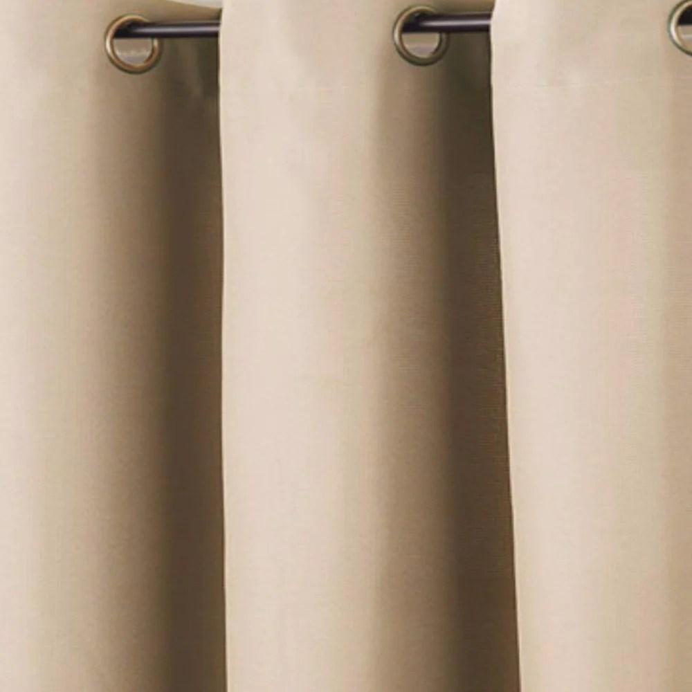 no 918 montego grommet top textured panel