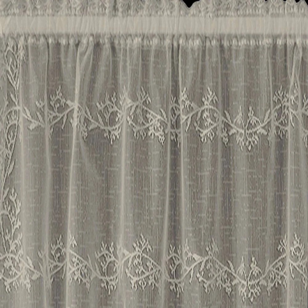 Sheer Divine Lace Kitchen Valance Amp Tier Curtains Heritage Lace