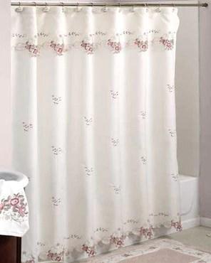 verona fabric shower curtain