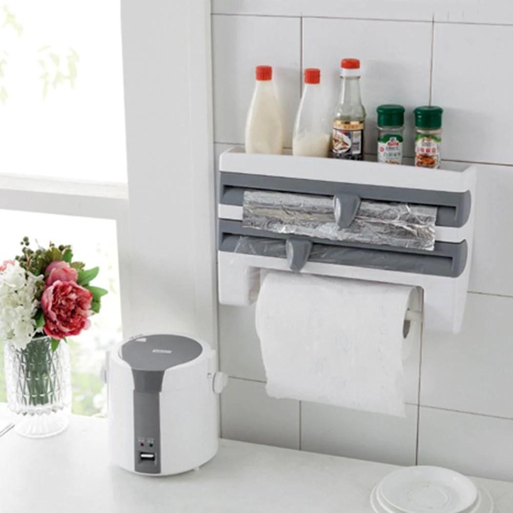 4 IN 1 Kitchen Roll Holder Dispenser The Whatever World