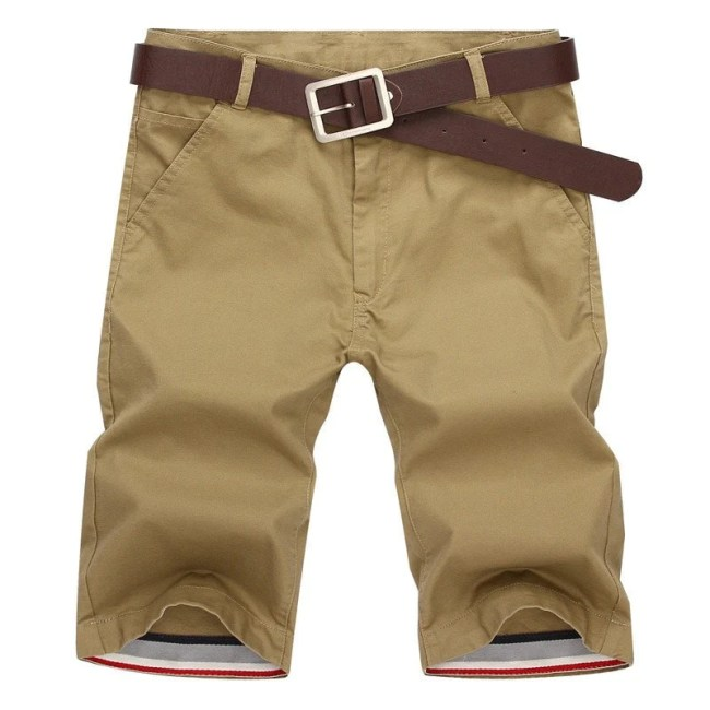 Costbuys Shorts Men Summer Fashion Mens Shorts Casual Cotton Slim