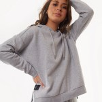 All About Eve Clothing WANTED HOODY - GREY MARL