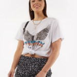 All About Eve Clothing PHOENIX TEE - WHITE