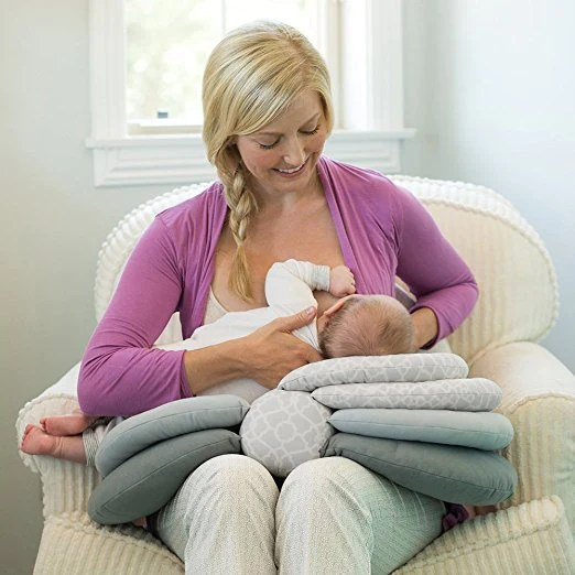 multi function learn to sit nursing pillow free insured shipping