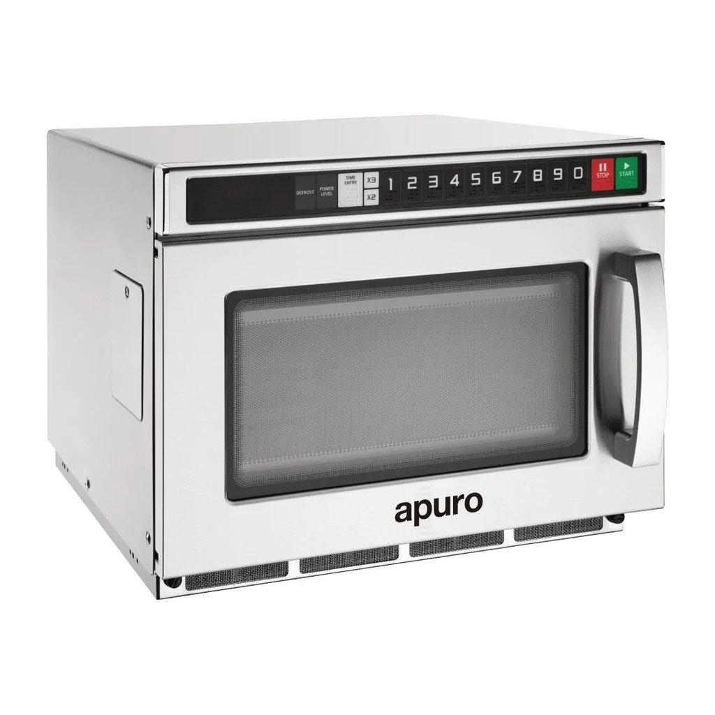apuro 1800w heavy duty commercial microwave programmable