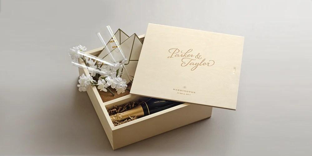 Wedding Wine Box Ceremony