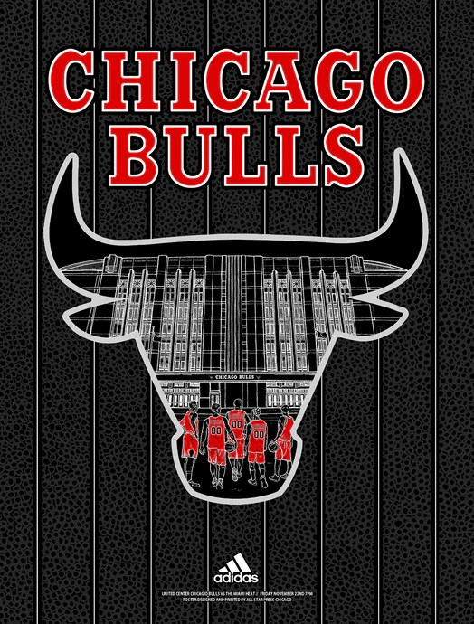official bulls posters all star press