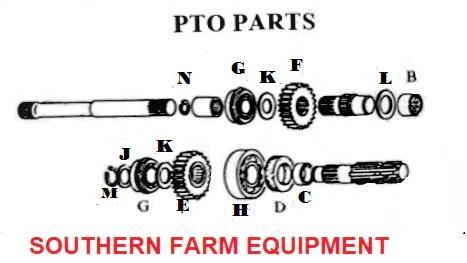 SF01B PTO PARTS DIAGRAM | SOUTHERN FARM EQUIPMENT