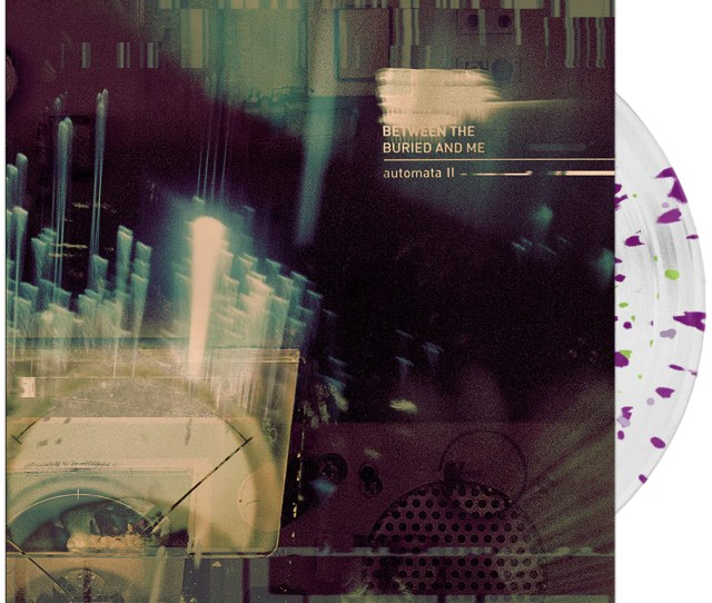 Between The Buried And Me Automata Ii Clear W Magenta Green