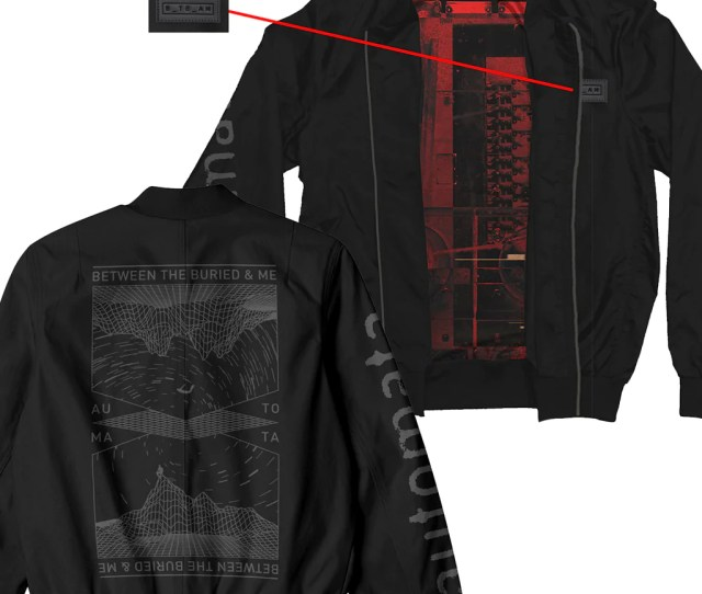 Between The Buried And Me Custom Lined Bomber