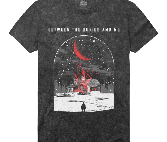 Between The Buried And Me House Organ Stone Wash Tee