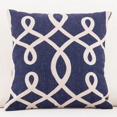 white striped throw pillow covers