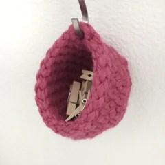 Short Miniature Hanging Basket