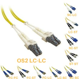 OS2 Fibre Optic Patch Cables