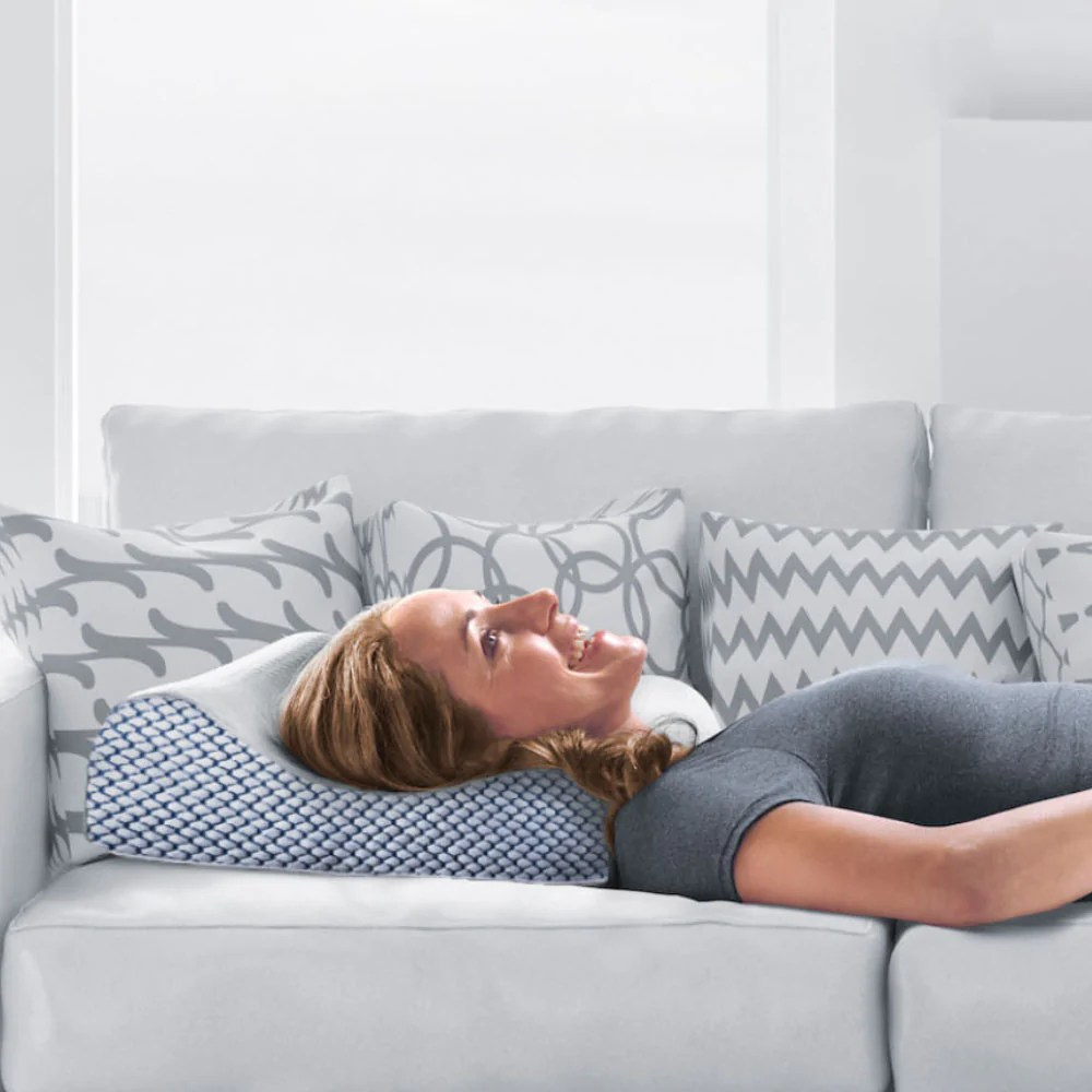 https www ameswalker com products lounge doctor cooling gel memory foam contour pillow