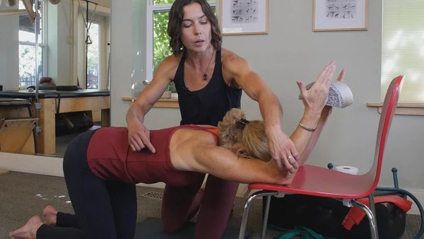 Shoulder Flexion Stretch