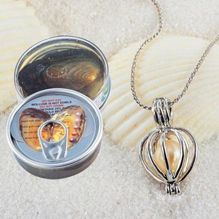 Surprise Pearl Wish Necklace 100 Real Natural Pearl Nalai Amp Co