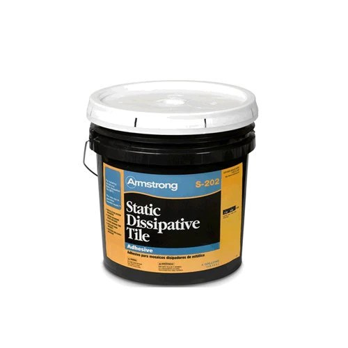 armstrong static dissipative tile adhesive s 202 4 gallon