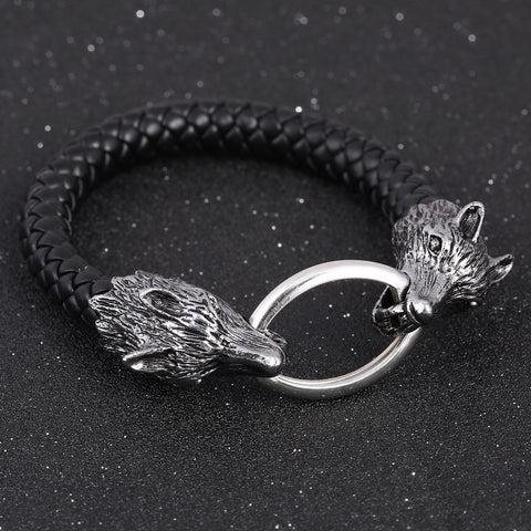 fenrir wolf bracelet viking meta