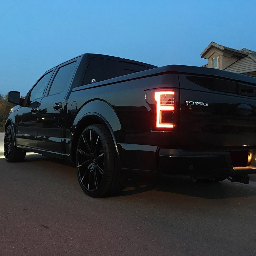Ford F150 Red Smoked Recon Led Tail Lights Shop Here For