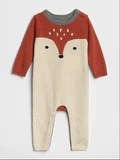 Gap fox one-piece sweater