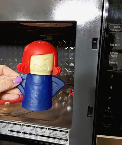 steaming mad mom microwave cleaner