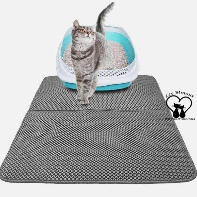 tapis de litiere chat magique les