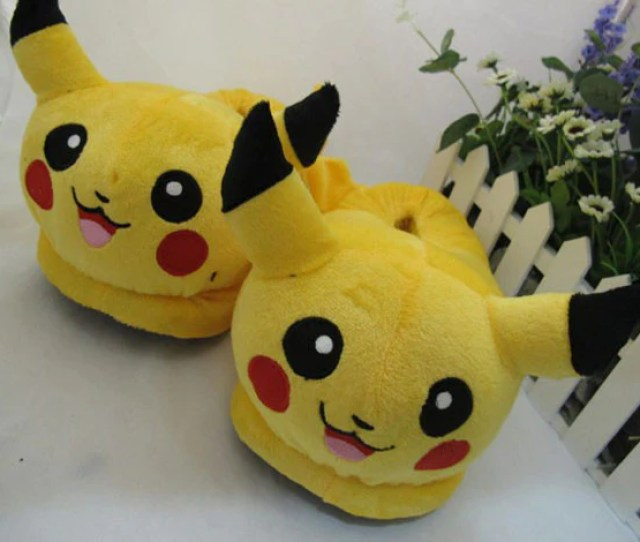 Pokemon Soft Slippers Various Characters Hf00254