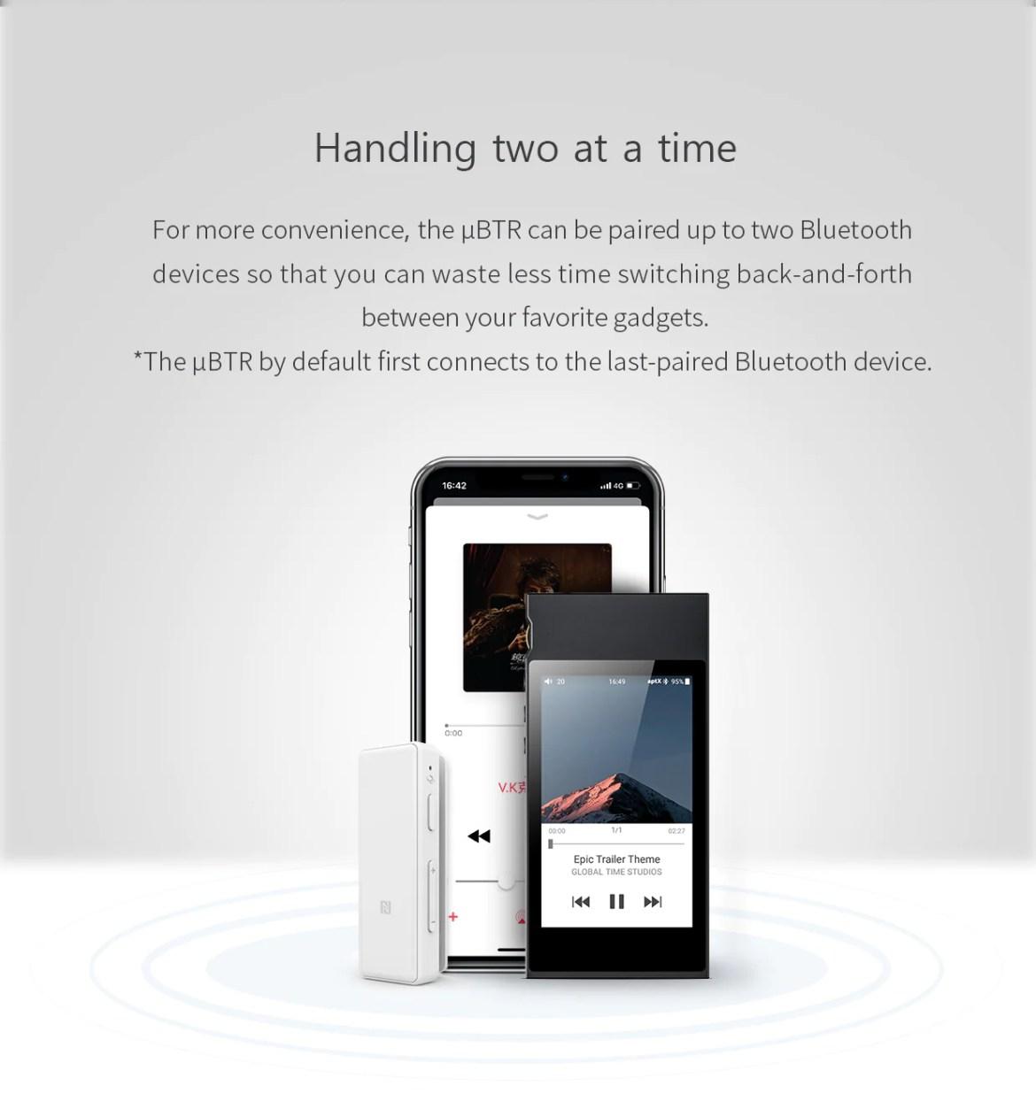 FiiO UBTR Bluetooth Receiver