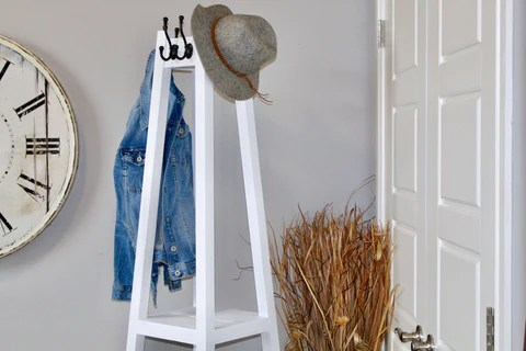DIY COat Rack 21 2 large - DIY Plant Stand