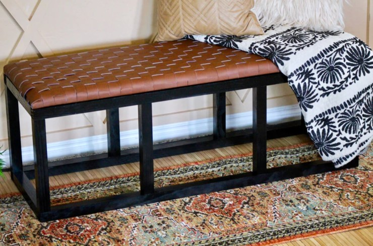 DIY Leather Bench 5 b3a7a644 fe7e 44be 984a a7a675723863 1024x1024 - DIY Leather Woven Bench