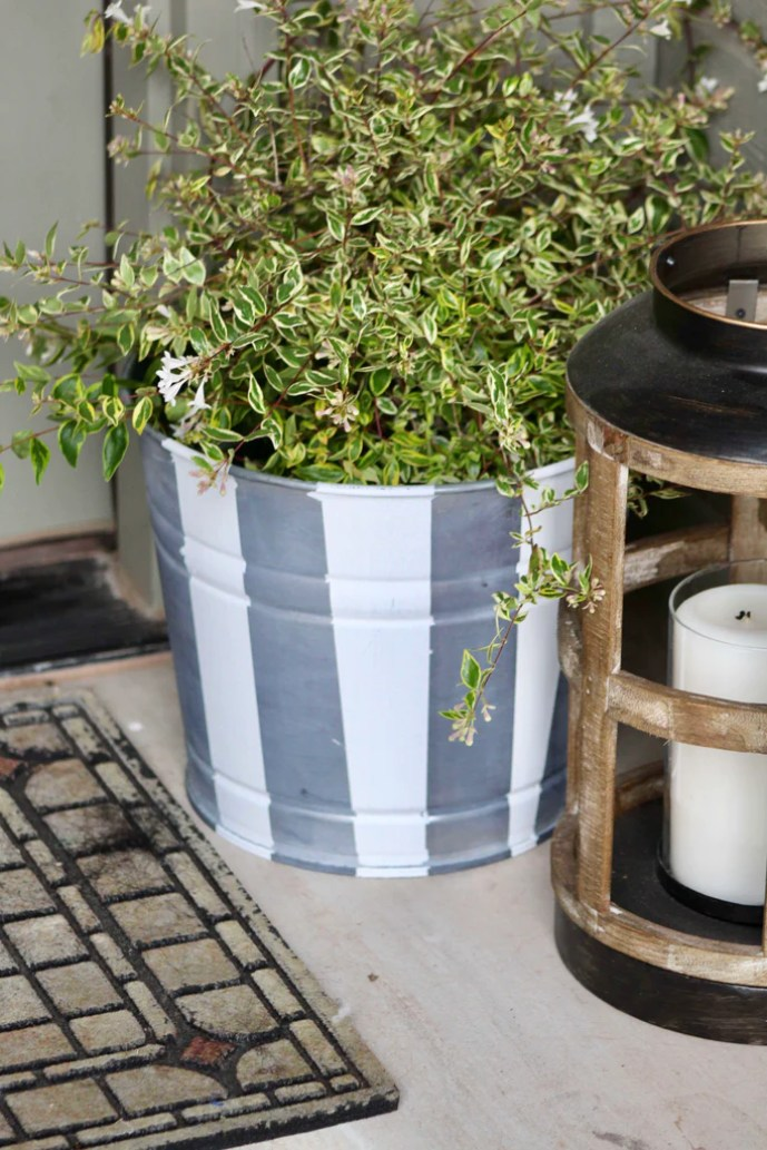 Zinc Flower Pot 13 1024x1024 - DIY Zinc Flower Pot