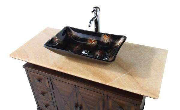 verdana vessel sink bathroom