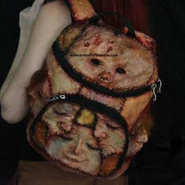 An Ed Gein backpack