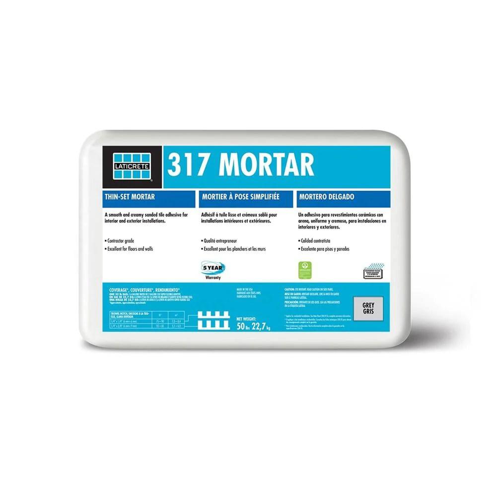 laticrete 317 unmodified mortar