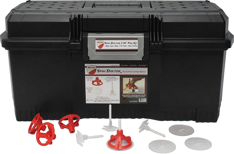 spin doctor tile leveling pro kit 1 16