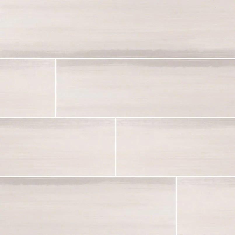 watercolor porcelain tile collection bianco 12 x24 tile
