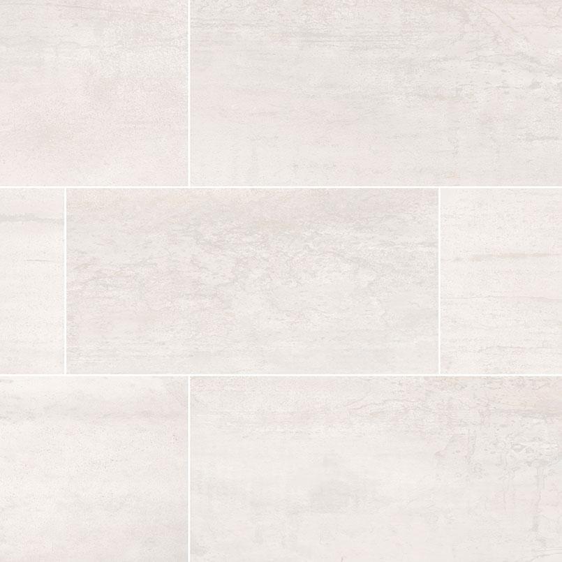 oxide blanc porcelain tile collection 24x48