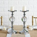 Silver Pillar Candle Holders Cheaper Than Retail Price Buy Clothing Accessories And Lifestyle Products For Women Men